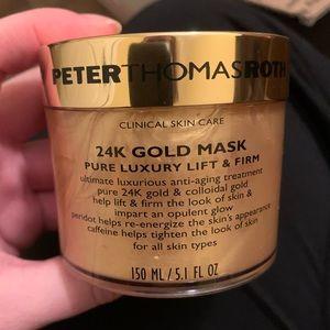Peter Thomas Roth 24k Gold mask + mini moisturizer